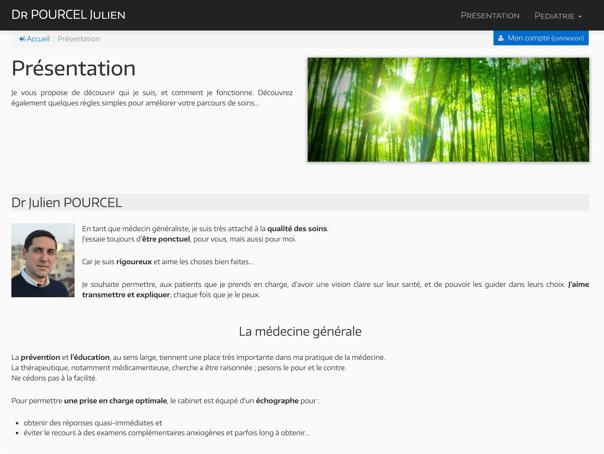 site-internet-medecin-julien-pourcel